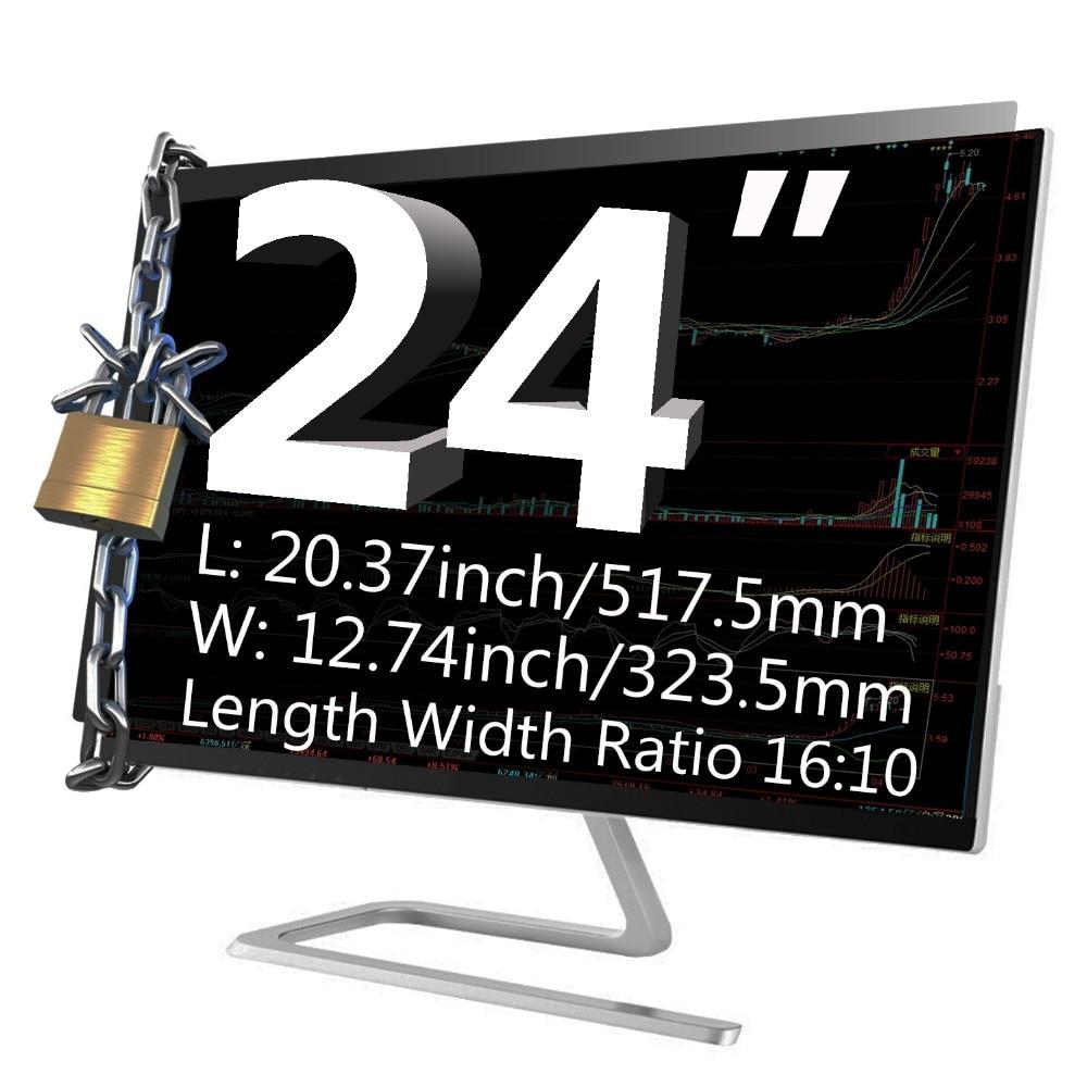 YOSON 24 inch Widescreen Universal Privacy Screen Filter Privacy Filter for 16: 10 Screen Protector недорого