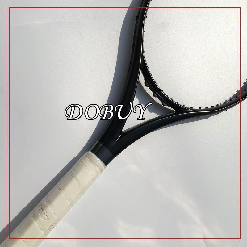 (Super A)2016 New black Racquet tennis racket 100sq.in 300G tennis racket carbon Foamed handle L2 L3 L4