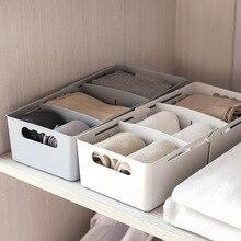Креативный дизайн, Коробка Для Хранения нижнего белья, пластиковая коробка для хранения нижнего белья и носков, органайзер для спальни, шкафа, ящика, коробка для хранения, чехол