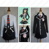 Blue Exorcist School Uniform Women Female Clothing Ao No Exorcist Okumura Rin Cosplay Costumes