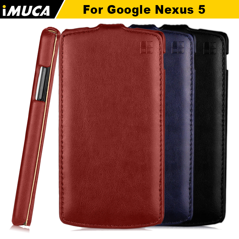 iMUCA Case For LG Nexus 5 Cover Case Luxury Leather Flip ...