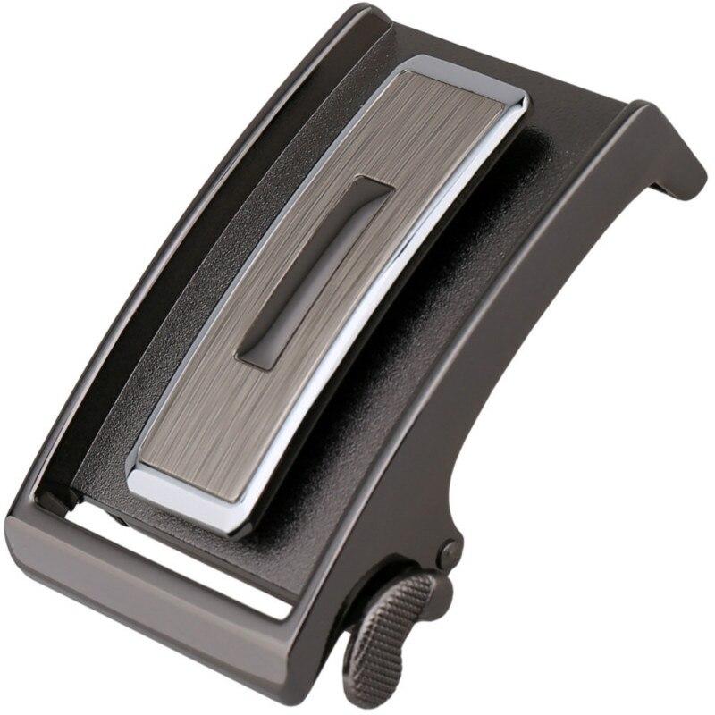 Genuine Men's Belt Head,Belt Buckle,Leisure Belt Head Business Accessories Automatic Buckle Width3.5CM Luxury Fashion LY136-7801