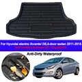 Maletero trasero forro de carga bandeja maletero equipaje alfombra alfombrillas alfombrilla para Hyundai Elantra Avante i35 2011 2012 2013 2014 2015
