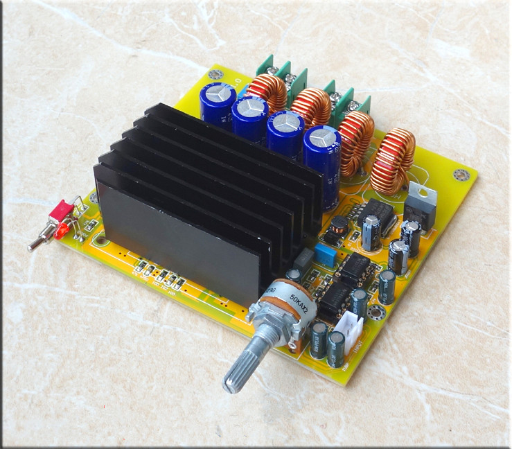 цена DC20 - DC50V TAS5630 high-power amplifier board Mono 600w subwoofer amplifier board