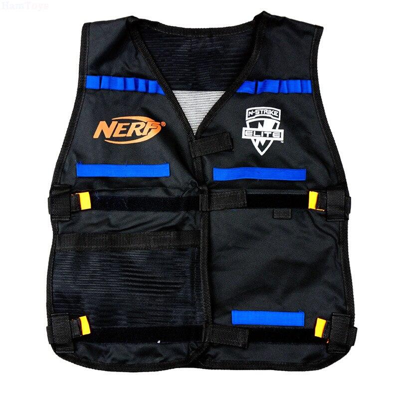 Nerf Tactical Vest Jacket Waistcoat Magazine Ammo Holder for N Strike Elite Foam Bullet Toy Guns