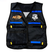 Nerf chaleco táctico chaleco chaqueta revista Ammo sostenedor para N-Strike Elite de balas de espuma armas de juguete Clip Nerf dardos Kit Set # un006
