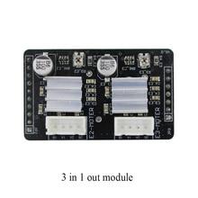 1 pc Navio Rápido Grátis 3in1out apoio módulo 2 acessórios 3d0380 into1out motherboard impressora 3d