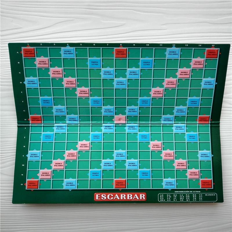 Качествена испанска Скрабъл Игри - Пъзели - Снимка 5