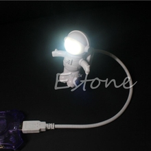 Spaceman Astronaut Mini Flexible Led Bulb Light Table Gadgets USB Hand Lamp For Power Bank PC Laptop Z09 Drop ship