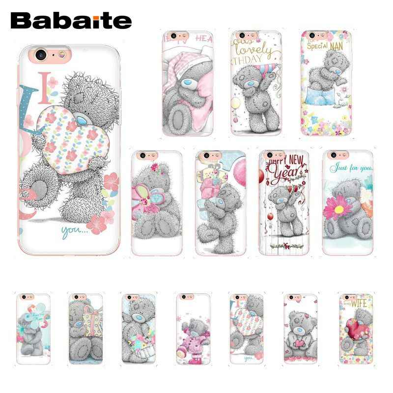 Babaite Tatty Teddy Me To You Bear Phone Case for iphone 11 Pro 11Pro Max 6S 6plus 7 7plus 8 8Plus X Xs MAX 5 5S XR