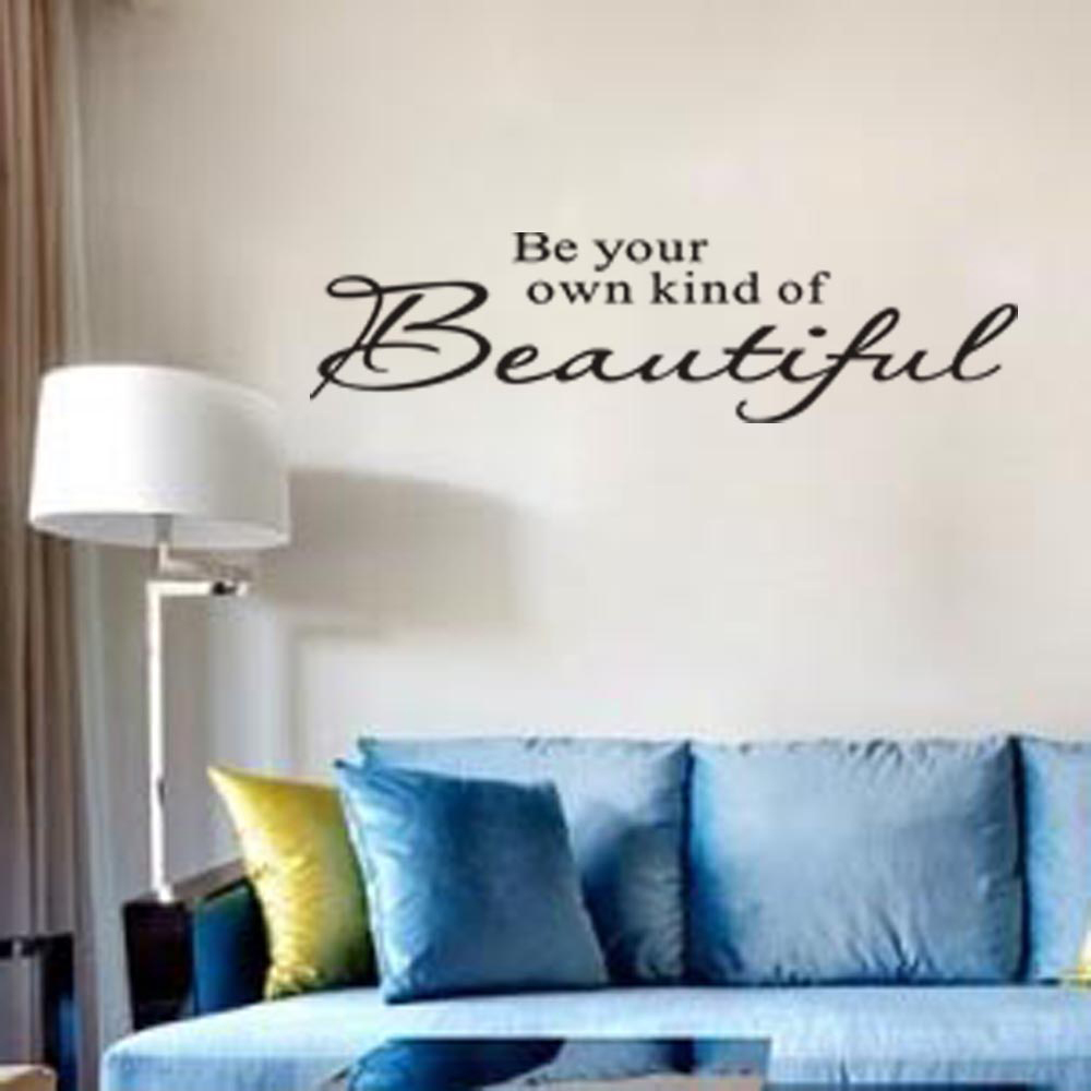 "Living Room Sayings online shop ""be your own kind of beautiful"" quotes and sayings"