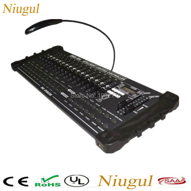 DMX-384 International Lighting Controller/DMX Console For Stage Light Moving Head LED Par Light /512 DMX Controller DJ Equipment tiptop mini pearl 1024 dmx controller for moving head light dmx lighting controller with fase wave dmx controller new arrival