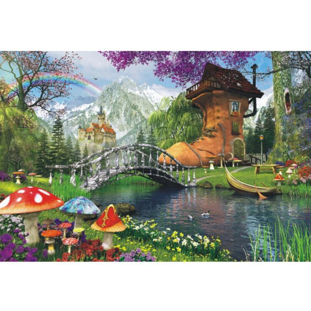 wooden Jigsaw puzzle 1000 pieces world famous painting adult children toys home decoration scenery puzzles Decorative paintings