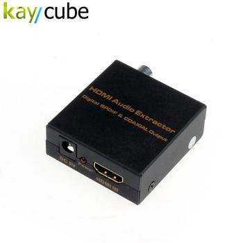 Kaycube HDMI To Digital Optical Spdif Coaxial Audio Extractor Converter Splitter LPCM2.0/DTS/Dolby-AC3 Эхолот для рыбалки