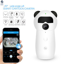Cartoon WIFI Remote IP Camera P2P H.264 1080P HD Network Baby Surveillance Monitor Smart Home Child Care CCTV IR Motion Detect(China)