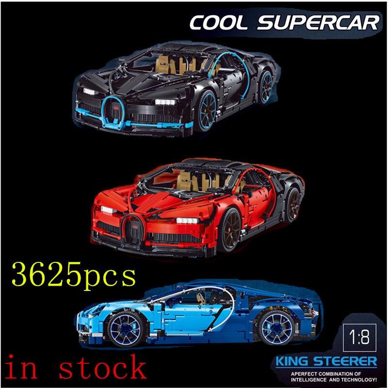 DECOOL Voiture 20086 3625 pcs 3388 Créateur Racing Compatible 42083 Modèle Blocs de Construction Briques Jouet legoings Technique
