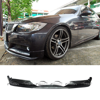 Экспресс доставка 3D Стиль стайлинга автомобилей PU Материал передняя губа спойлер для BMW E90 2005 2008 М технология M спортивные посылка