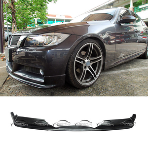 Express Shipping Car Styling PU Material Front Lip Bumper Spoiler For BMW E90 2005-2008 M-Tech M Sport Package OLOTDI