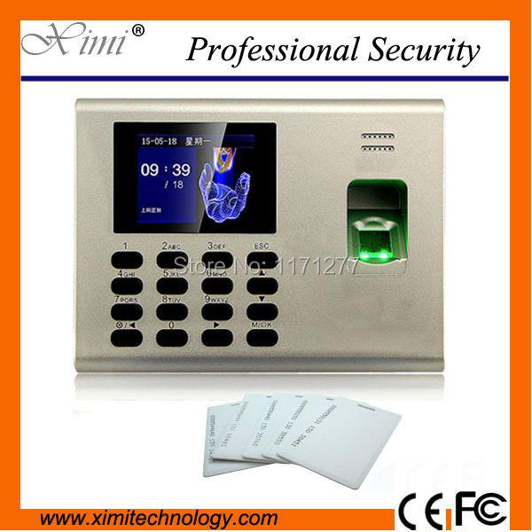 Hot sale cheap standalone free SDK ID card reader SSR TCP/IP fingerprint reader time attendance machine цена