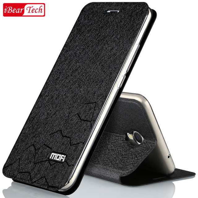 meizu m5 note case cover silicone meizu m5 note case hard 5.5 inch mofi luxury flip PU leather case for m5 note meizu coque capa