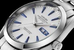 40mm Sangdo zegarek biznesowy automatyczny mechanizm samoczynnego wiatru wysokiej jakości zegarki mechaniczne Auto data zegarek męski 047A w Zegarki mechaniczne od Zegarki na