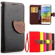 For Lenovo A 5000 Phone Case With Card Slots Holder Wallet Flip Back Cover For Lenovo