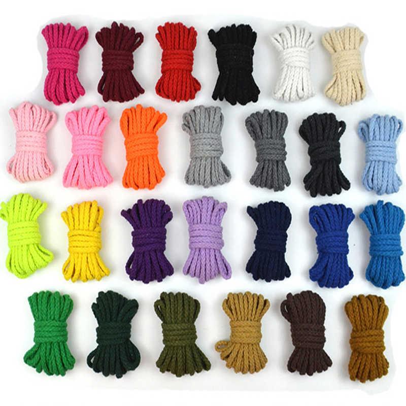 綿 100% コード 5 ミリメートルツイストロープ高強力糸 Diy テキスタイルクラフト織コード家の装飾のため Touw