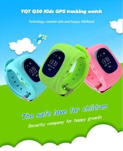 Image 4 - Q50 GPS Tracker Đồng Hồ Trẻ Em Thông Minh Cuộc Gọi SOS Chống Mất Vòng Tay Vòng Đeo Tay Trẻ Em Mặc Được Các Thiết Bị Màn Hình OLED Định Vị GPS Tracker