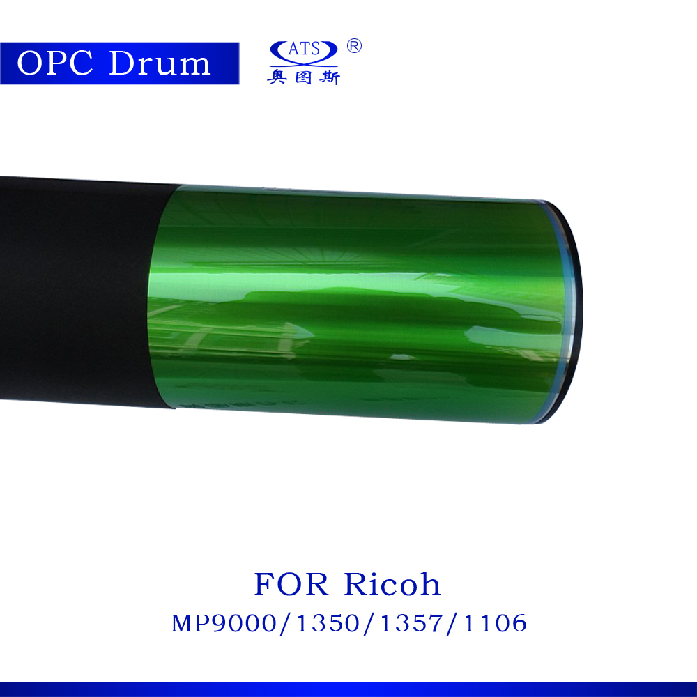 все цены на 1pcs Compatible opc drum for Ricoh MP9000 AF1350 1357 1106 copier spare parts copier Machine photocopy онлайн