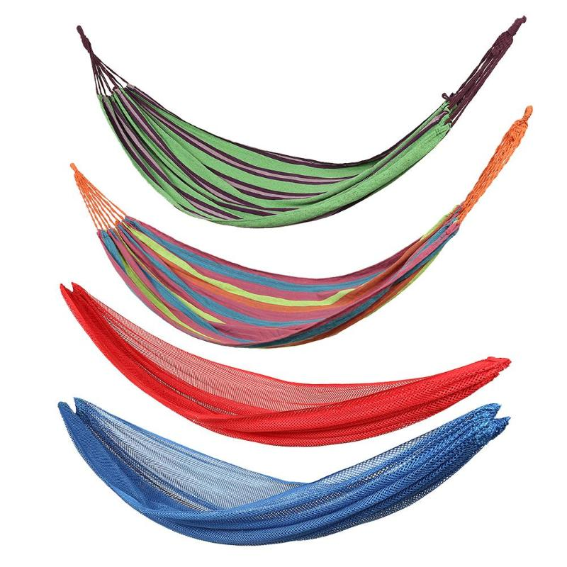 Outdoor Hammock Portable 1 Person Strong Picnic Garden Home Travel Out Door Camping Swing Hang Bed Hammock
