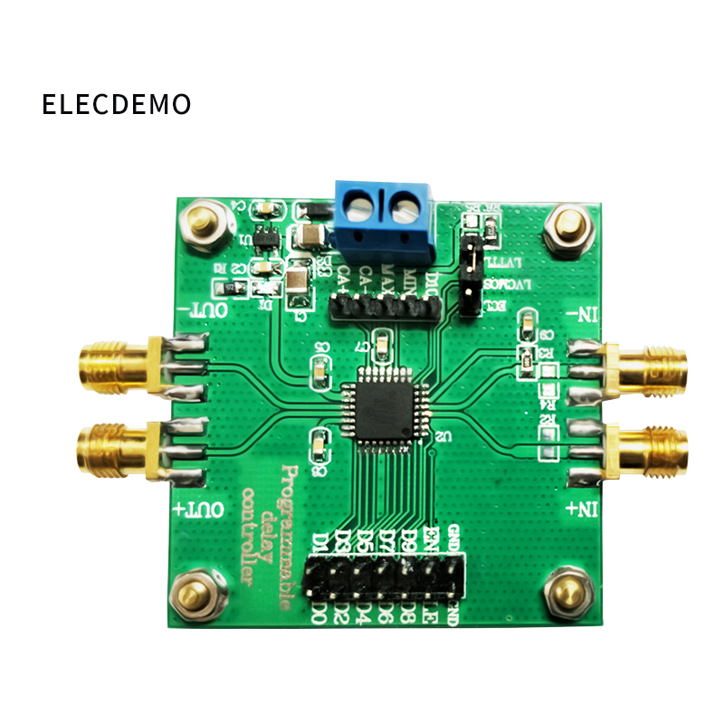 Image 2 - High precision pulse square wave signal delay circuit module ps level precision program control multi channel synchronization-in Demo Board Accessories from Computer & Office