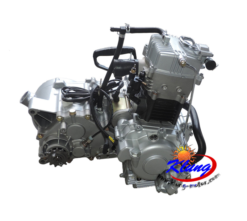 US $1210 0 |klung 320cc 2x4 chain drive water cooled atv engine ,buggy  engine,go kart engine ,motorcycle engine with cvt HLNR gearbox,tran on