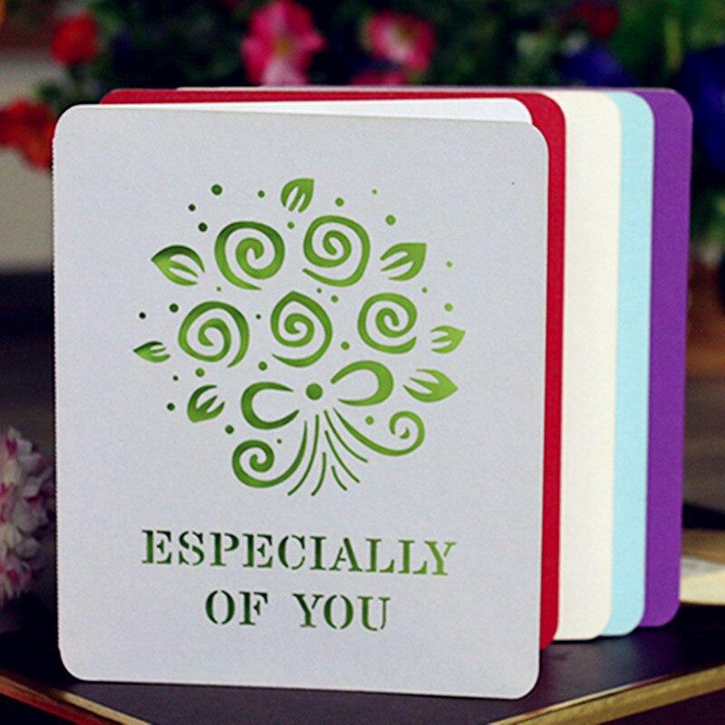50Pcs Laser Cut DIY Greeting Cards Blank Postcards ...