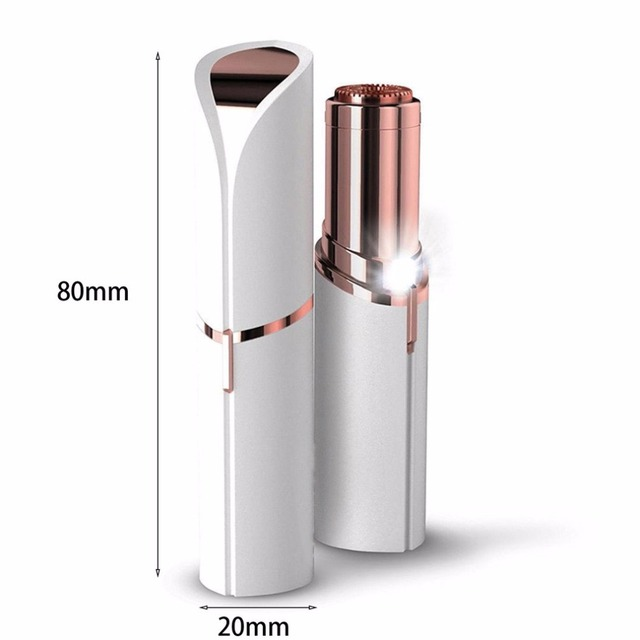 Female Mini Electric Epilator Lipstick Shape Shaving Shaver Lady Hair Remover For Women Body Face