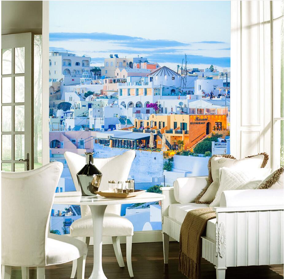 Aliexpress Buy Custom Mural Photo 3d Wallpaper Romantic Greek