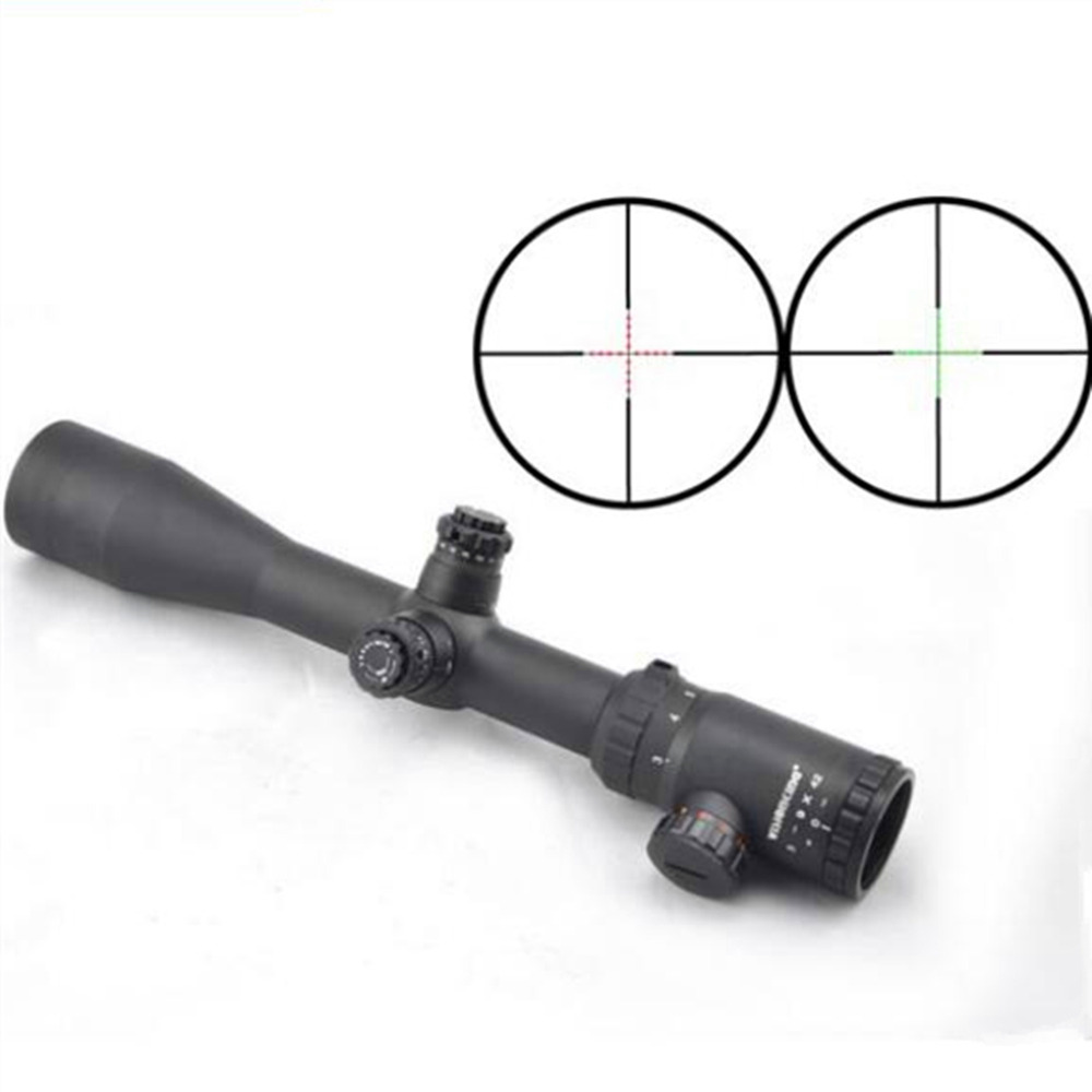 Visionking 3-9x42 Mil-Dot 30mm Shock Resistance Wide Angle Riflescopes .308 30-06 .223 Luneta Para Rifle  Hunting Rifle Scopes прицел hawke panorama ev 3 9x50 10x half mil dot ir hk5161