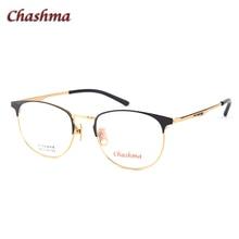 Chashma Brand Designer Top Quality Alloy Eyewear Cat Eye Women Prescription Glasses Frame Black Red Cute