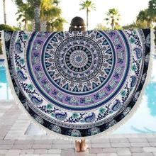 Drop Shipping Maillot de Bain Cover Ups Plage Piscine Maison De Douche Serviette Couverture Table Tissu Tapis De Yoga Tunique Plage Saidas De Praia
