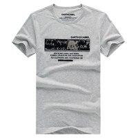 Mens T shirt Moda 2017 VESTITI Tshirt Stampato Bianco Camisetas Hombre Fitness T-Shirt Da Uomo In Cotone Casuale Uomini Della Maglietta Tops Tees