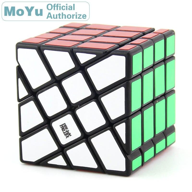 MoYu AoSu moulin à vent 4x4x4 Cube magique irrégulier 4x4 Cubo Magico professionnel néo vitesse Cube Puzzle Kostka Antistress Fidget jouets