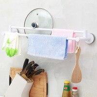 Towel Rack Kitchen Multi purpose Wall Mounted Holder Organizer Cupboard Hanger Bathroom Brush Gloves Door Rack 65.2x13.6x8.6cm