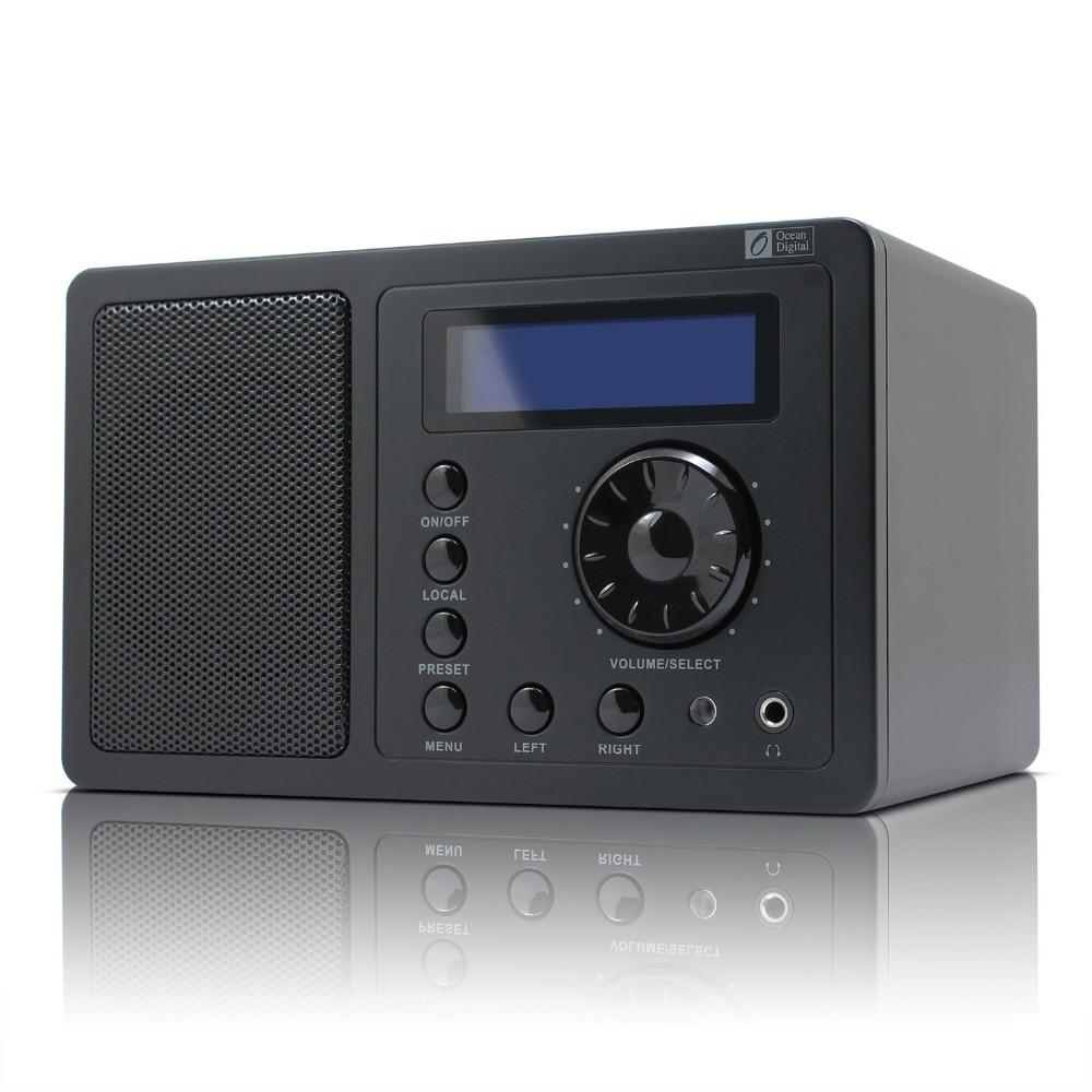 WiFi UPnP Radio Ocean Digital WR 220 Internet WiFi Radio UPnP player 14000 Radio station alarm