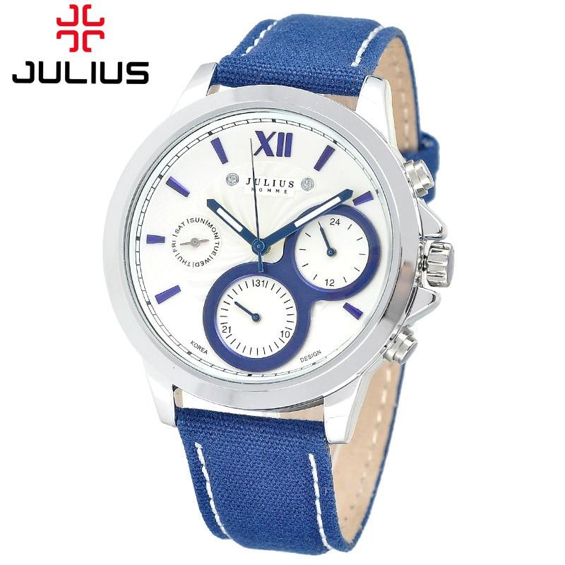Men s Homme Wrist Watch Quartz Hours Best Fashion Dress Korea Bracelet Fabric Band Clock Gift