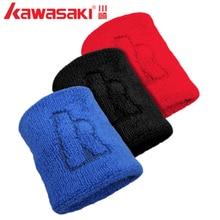 Kawasaki Sports Wristband Cotton Wrist Support Protector Sweatband Unisex Gym Strap Sport Wrist Wrap Basketball/Tennis