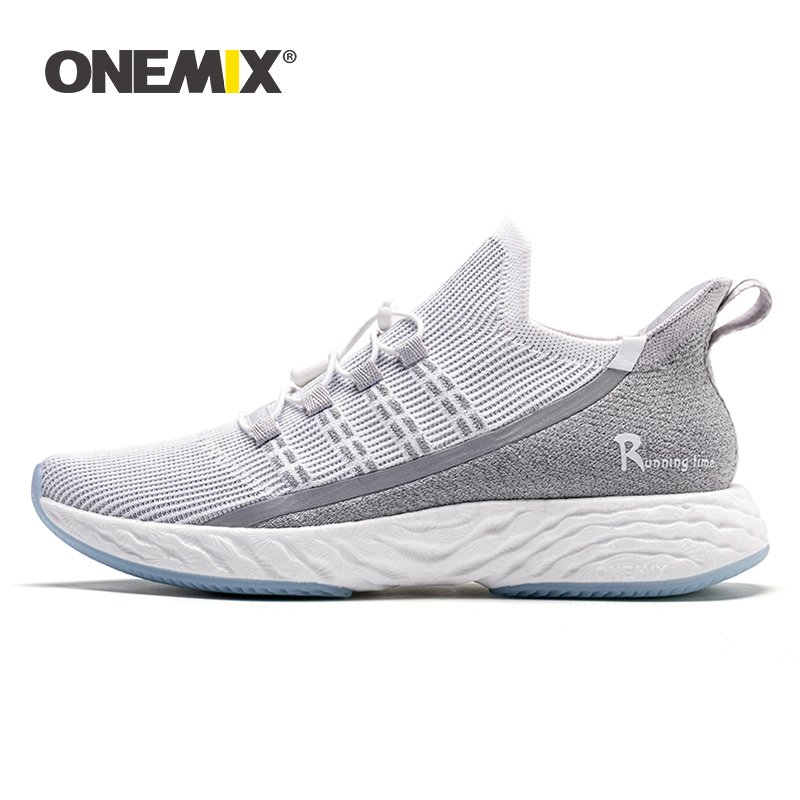 ONEMIX Original Ultra Light Running Shoes Men Sneakers 2019 Breathable Reflective Women Tennis Shoes Jogging Vulcanize Footwear