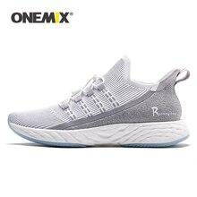 ONEMIX orijinal Ultra hafif koşu ayakkabıları erkek spor ayakkabı 2020 nefes yansıtıcı kadın tenis ayakkabıları koşu vulkanize ayakkabı