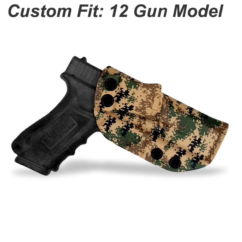 B B F Make MARPAT MARine PATtern IWB KYDEX Gun Holster For Glock 19 17 23