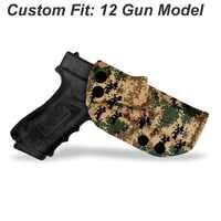 B.B.F Make MARPAT MARine PATtern IWB KYDEX Gun Holster For: Glock 19 17 23 26 28 43 P320 VP9 Inside Concealed Carry Pistol Case