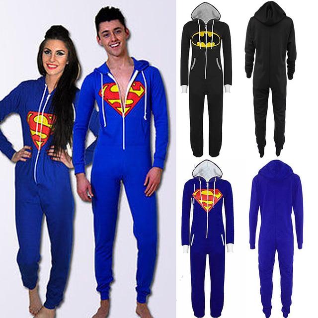 Men Hooded Zip Up Sportswear Women Unisex Halloween Jumpsuit Sexy Onesie Playsuit All In One Sleepwear Pajamas Tracksuit