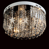 домашнее освещение гостиной потолочный светильник с хрустальными шарами потолочные кристалл освещение Кристалл K9 потолочные светильники
